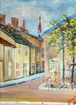 Slika na platnu Laignes, France, 2006,