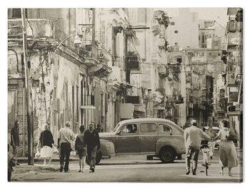 Slika na platnu Lee Frost - Havana Street, Cuba