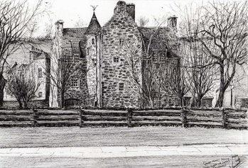 Slika na platnu Queen Mary's house Jedburgh, 2006,