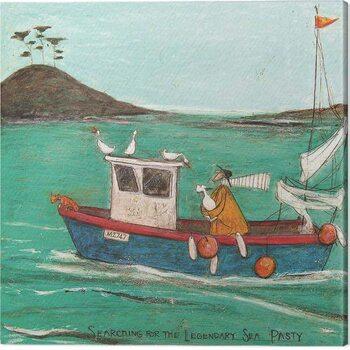 Slika na platnu Sam Toft  - Searching for the Legendary Sea Pasty
