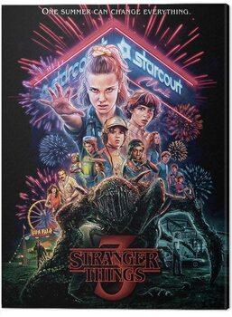 Slika na platnu Stranger Things - Summer of 85