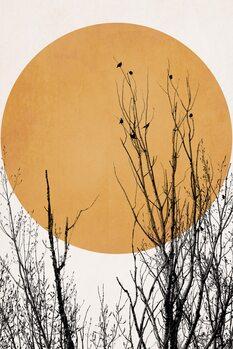 Slika na platnu Sunset Dreams YELLOW