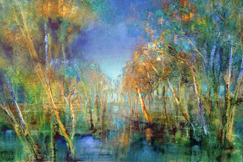 Slika na platnu The forest