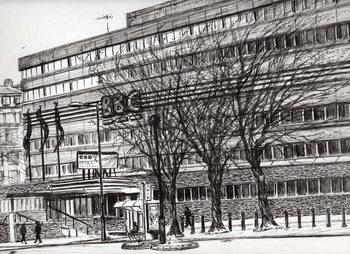 Slika na platnu The Old BBC Oxford road Manchester, 2011,