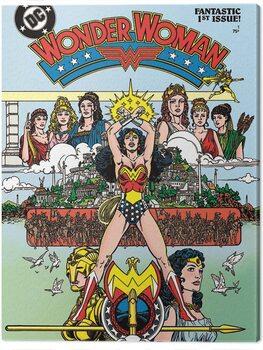Slika na platnu Wonder Woman - Fantastic