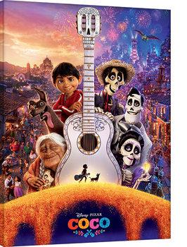 Coco - Guitar Slika na platnu