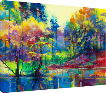 Doug Eaton - Meadowcliff Pond Slika na platnu