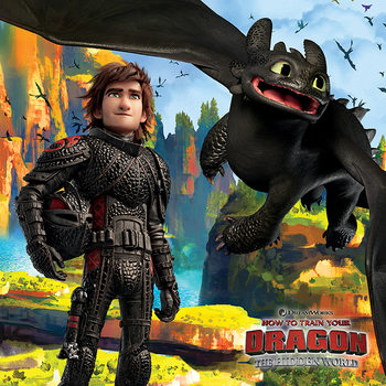 How To Train Your Dragon - A Hidden World Slika na platnu