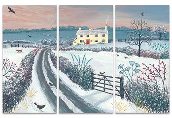 Jo Grundy - Coming Home for Winter Slika na platnu