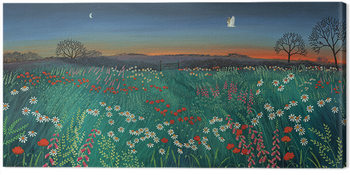 Jo Grundy - Twilight Meadow Slika na platnu