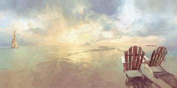 Malcolm Sanders - Heavenly Dawn Slika na platnu