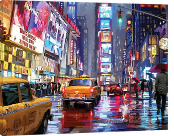 Richard Macneil - Times Square Slika na platnu