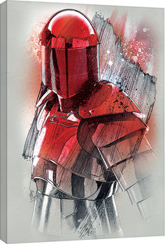 Star Wars The Last Jedi - Elite Guard Brushstroke Slika na platnu