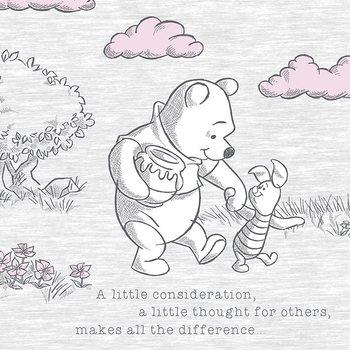 Winnie The Pooh - A Little Consideration Slika na platnu