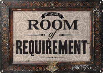 Plåtskylt Harry Potter - Room Of Requirement