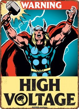 Marvel - Thor Plåtskyltar