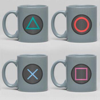 Hrnček Playstation - Buttons