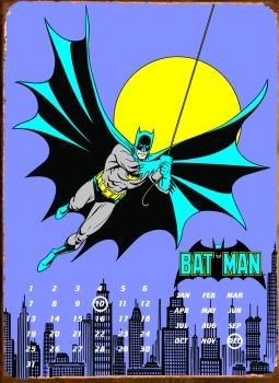 Plechová cedule BATMAN GOTHAM CITY