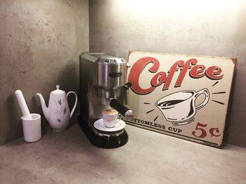 Plechová cedule SCHOENBERG - coffee scents