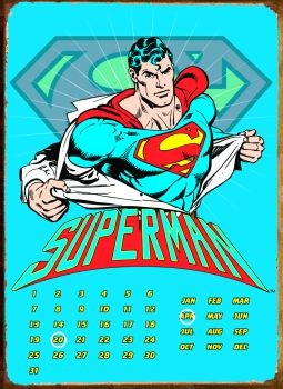 Plechová cedule SUPERMAN RIPPED SHIRT
