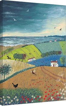 Jo Grundy - Sea Breeze Obraz na płótnie