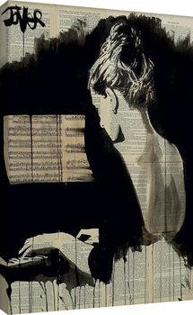 Loui Jover - Her Sonata Obraz na płótnie