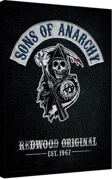 Synowie Anarchii - Cut Obraz na płótnie