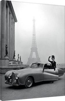 Time Life - France 1947 Obraz na płótnie