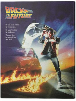 Obraz na płótnie Back to the Future - One Sheet