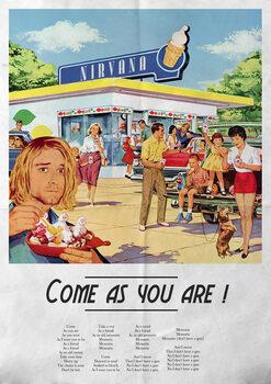 Obraz na płótnie Come as you are