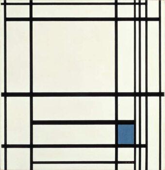 Obraz na płótnie Composition in Lines and Colour: III