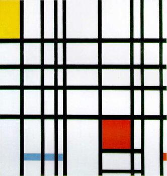 Obraz na płótnie Composition with Red