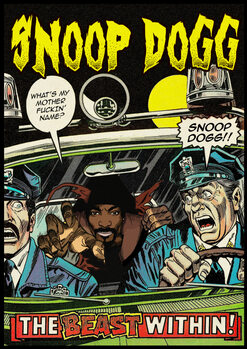 Obraz na płótnie Dangerous Dogg