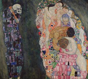 Obraz na płótnie Death and Life