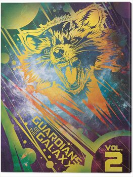 Obraz na płótnie Guardians of The Galaxy Vol. 2 - Rocket