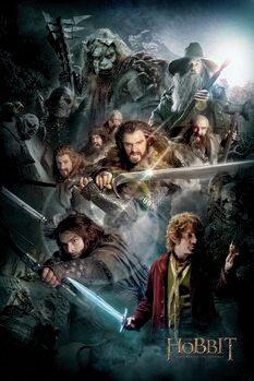 Obraz na płótnie Hobbit - Niezwykła podróż