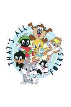 Obraz na płótnie Looney Tunes - Small characters