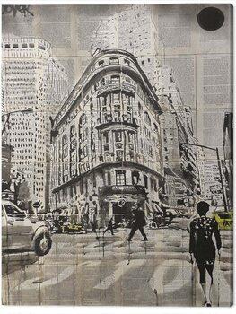 Obraz na płótnie Loui Jover - Midtown Walk