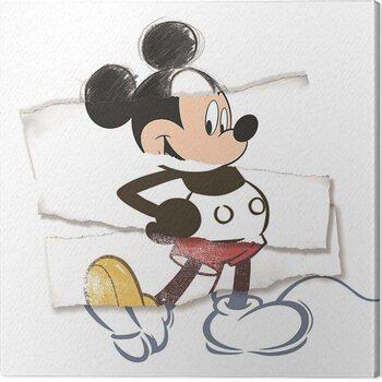 Obraz na płótnie Mickey Mouse - Torn