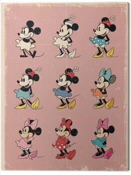 Obraz na płótnie Minnie Mouse - Evolution