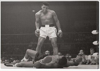 Obraz na płótnie Muhammad Ali - Ali vs Liston Landscape
