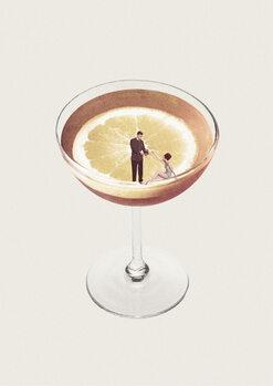 Obraz na płótnie My drink needs a drink