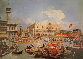 Obraz na płótnie Return of the Bucintoro on Ascension Day