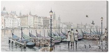 Obraz na płótnie Richard Macneil - Quayside, Venice