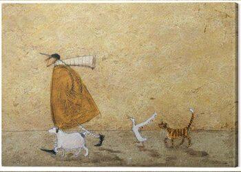 Obraz na płótnie Sam Toft - Ernest, Doris, Horace and Stripes
