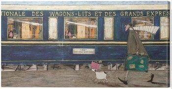 Obraz na płótnie Sam Toft - Orient Express Ooh La La