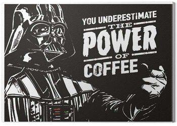 Obraz na płótnie Star Wars - The Power Of Coffee