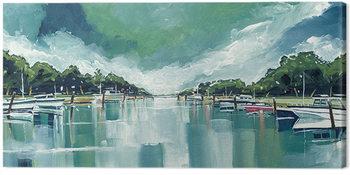 Obraz na płótnie Stuart Roy - River Mornings and Angry Clouds