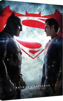 Batman vs Superman Obraz na płótnie