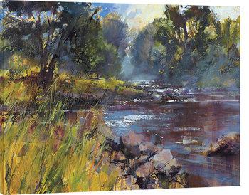 Chris Forsey - Rocky River Obraz na płótnie